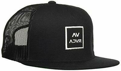 RVCA Way Trucker One Black