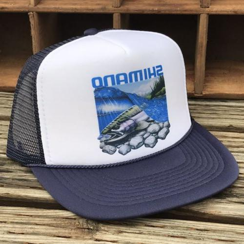 Salmon Steelhead Hat Snapback Cap Trout