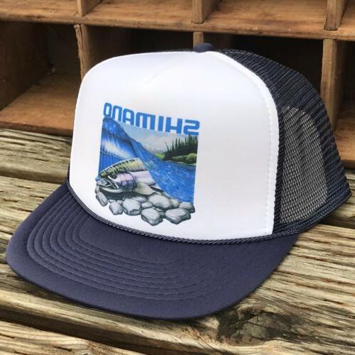Salmon Steelhead Hat Vintage Style Snapback Trout Fish