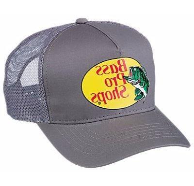 shops mesh logo fishing hat