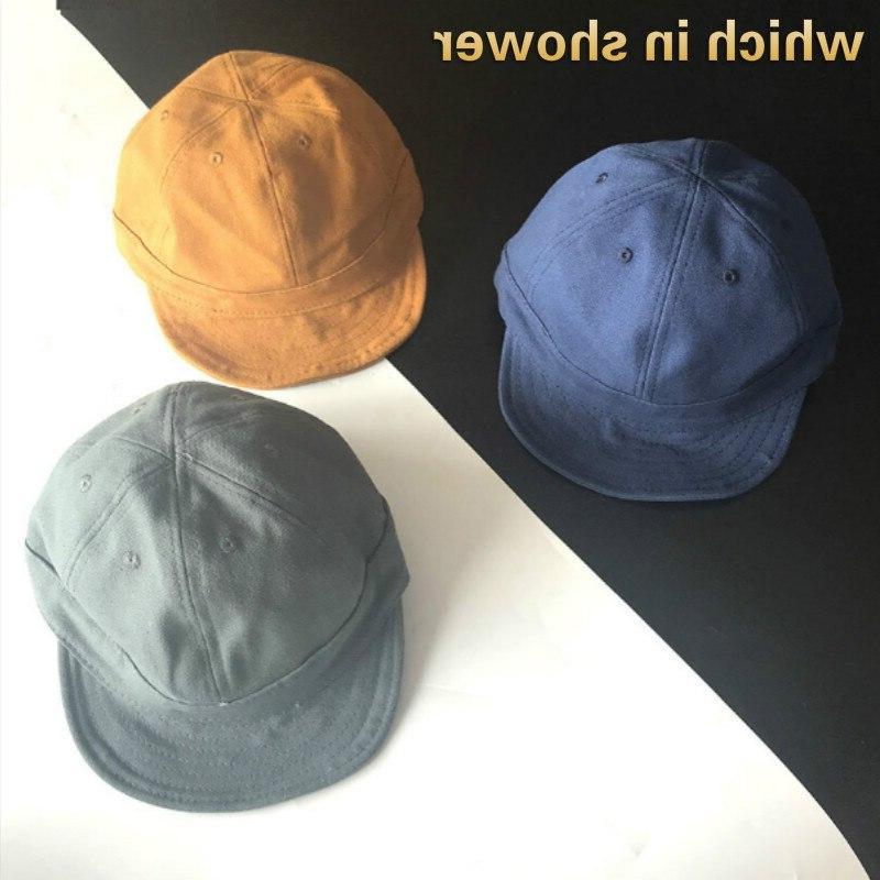 short brim baseball cap for women men