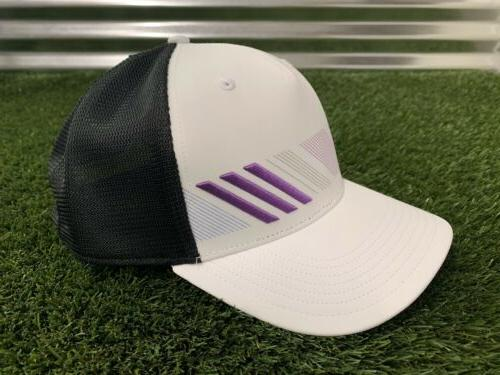 Adidas Snapback Stripe Golf Purple NEW!