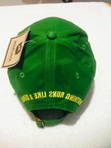 John Deere Trucker Cap Hat -New w/ tags Great Condition!