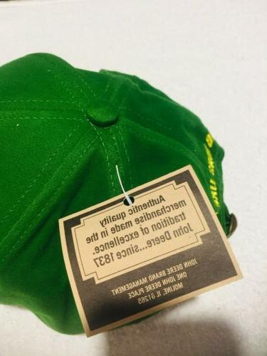 John Deere Trucker Cap Hat tags Great