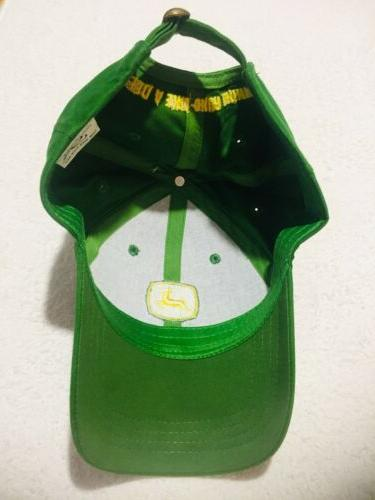 John Deere Snapback Trucker Cap Hat tags Great