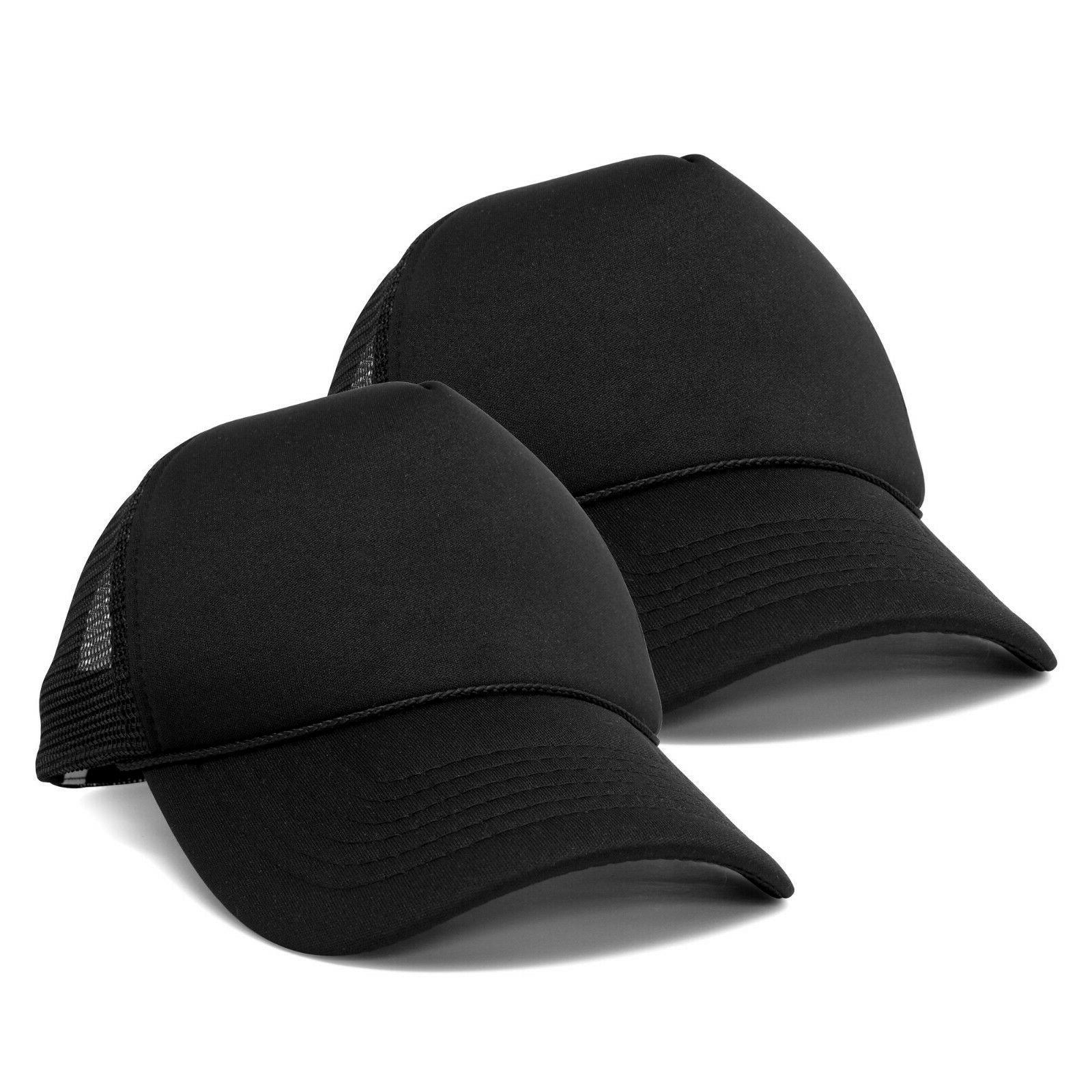 solid blank trucker hats caps 2
