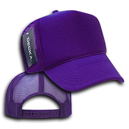 DECKY Trucker Cap, Purple