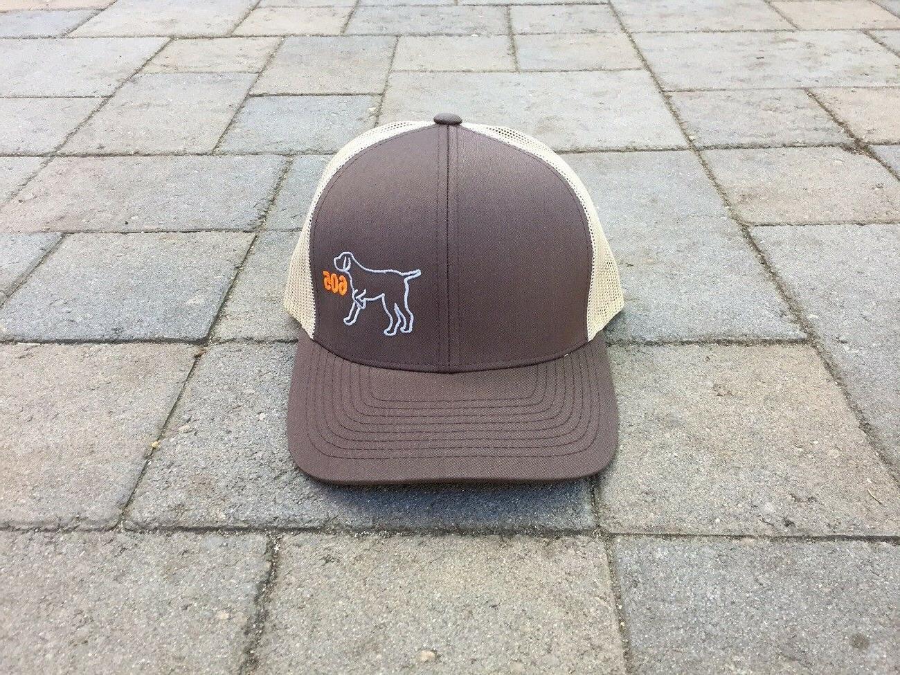south dakota hunting bird dog trucker hat