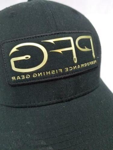Columbia Sportswear PFG Gold Hook S/M Flexfit Mesh Hat