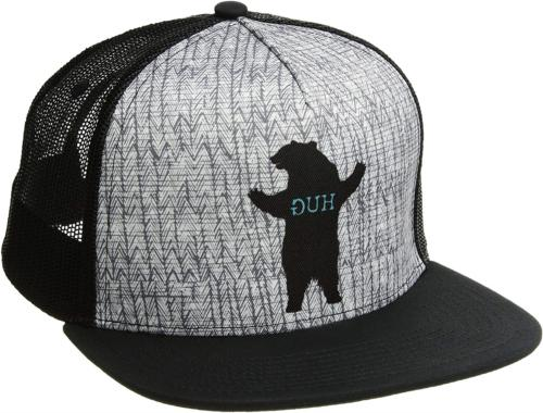 standard journeyman trucker charcoal bear hug one