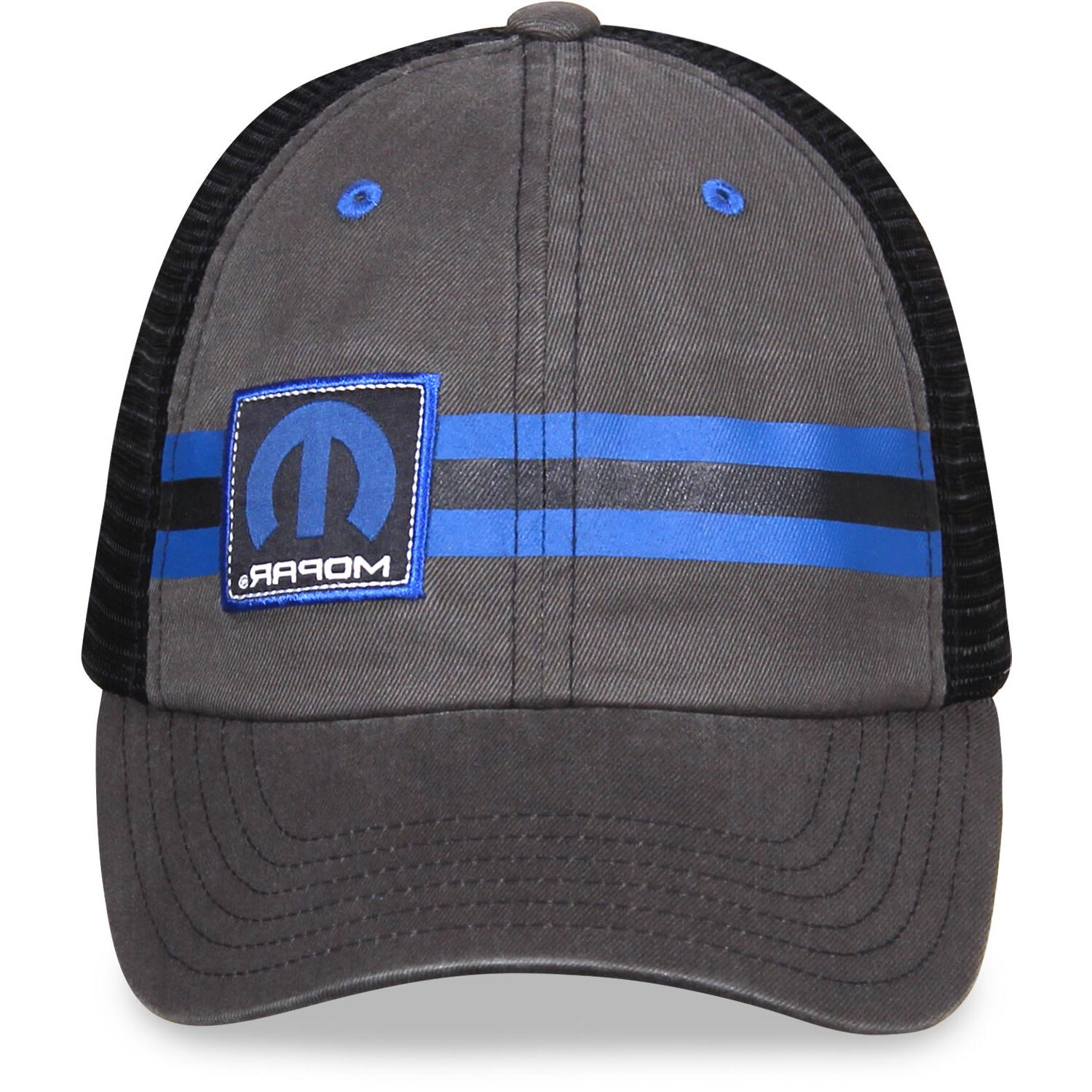 Mopar Gray and Black Hat Style,