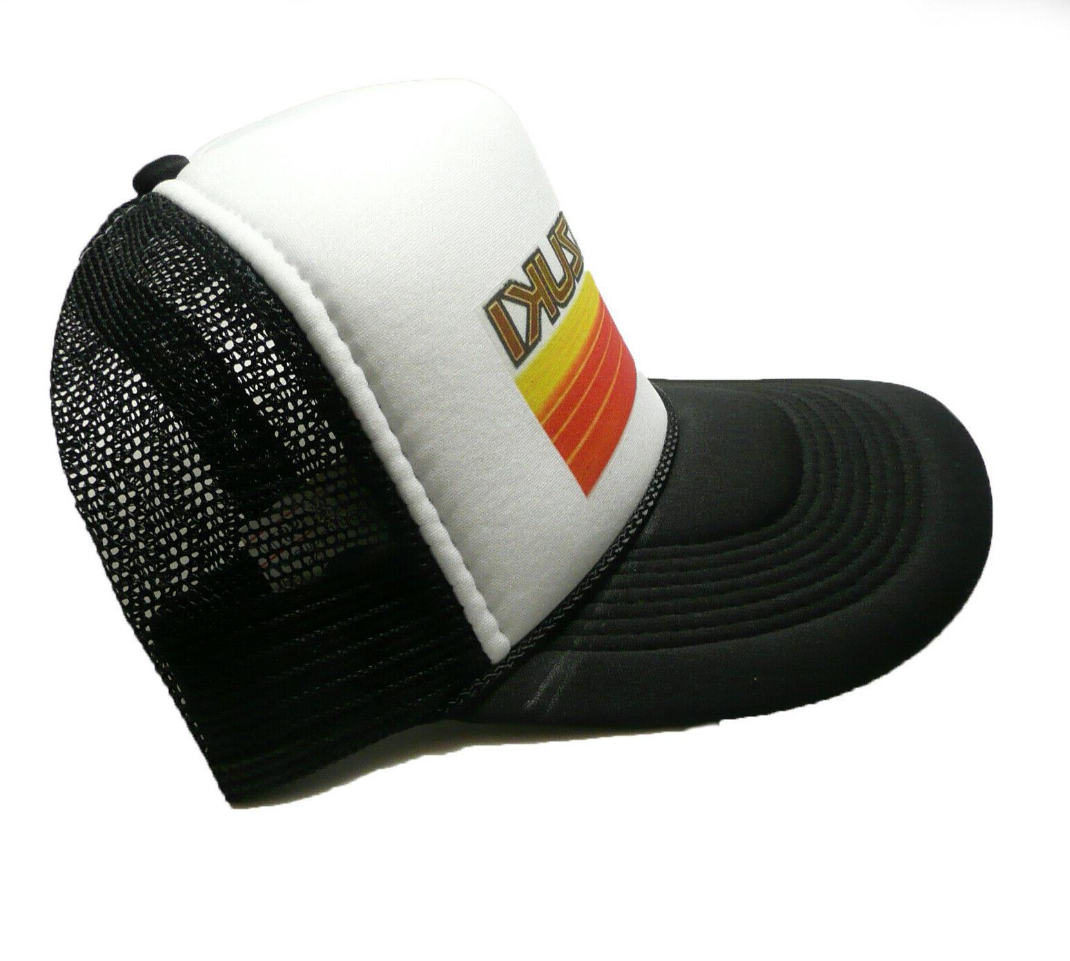 Suzuki trucker hat snap hat new black motocross new