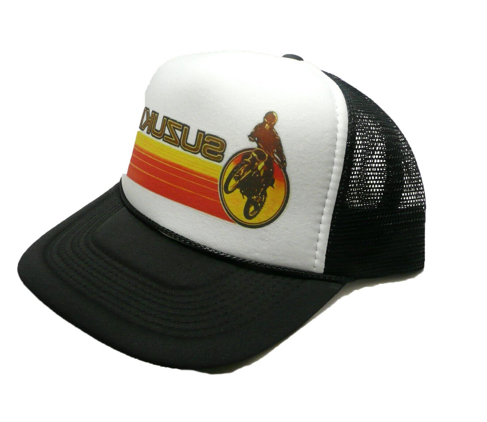 suzuki hat trucker hat snap back hat