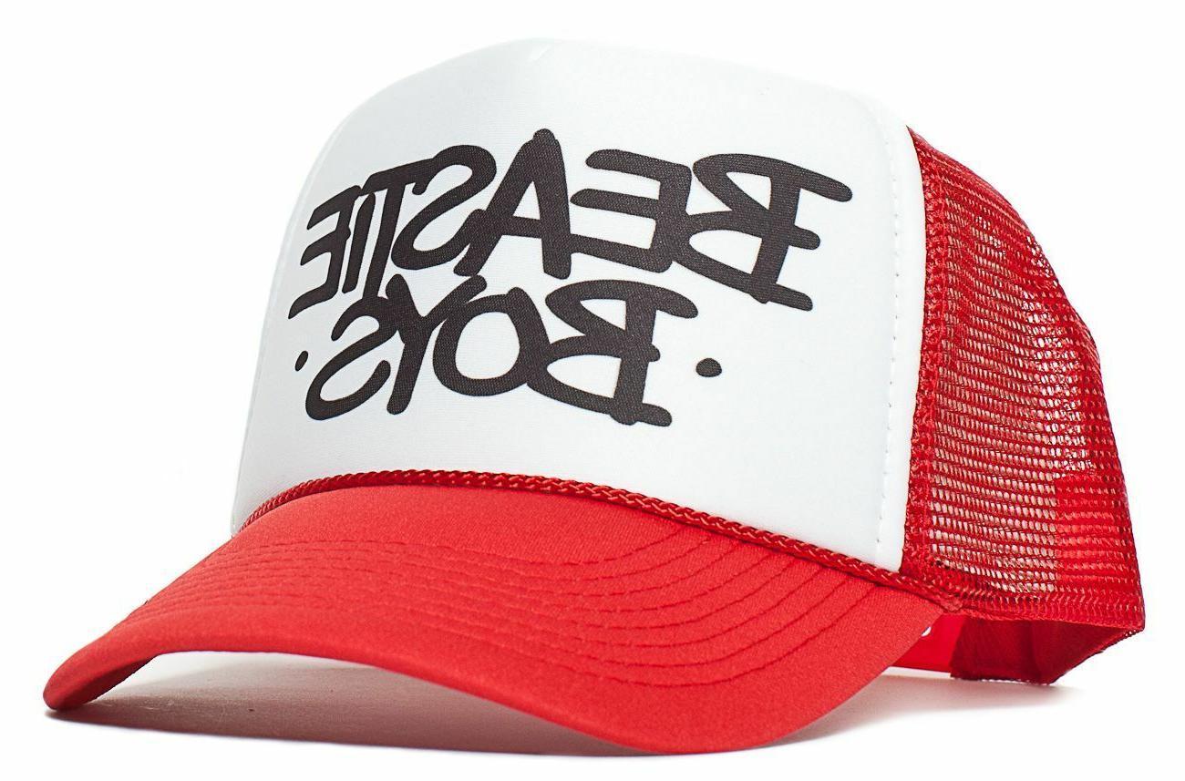the beastie boys old school trucker cap