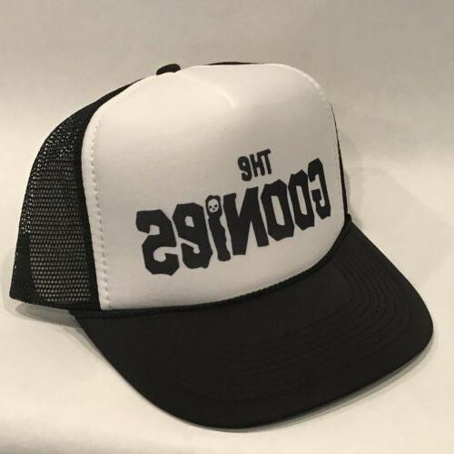 The Old Movie Vintage Style Mesh Snapback Cap Black