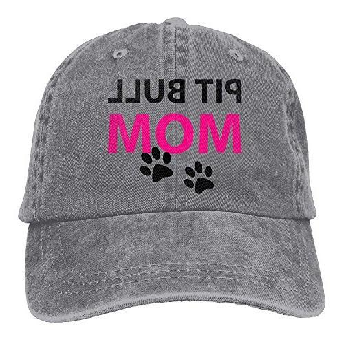 trucker baseball hat pit bull mom polo