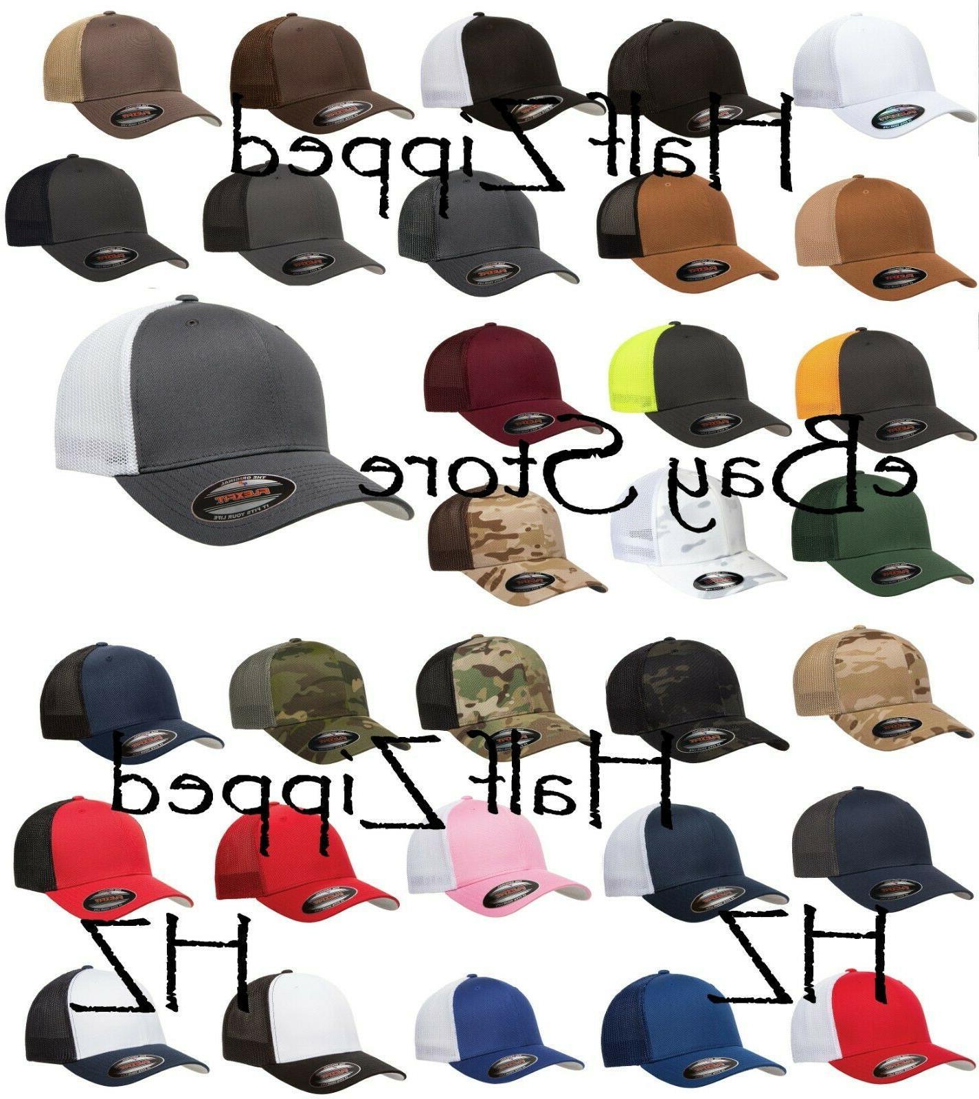trucker cap fitted mesh hat 6511 baseball