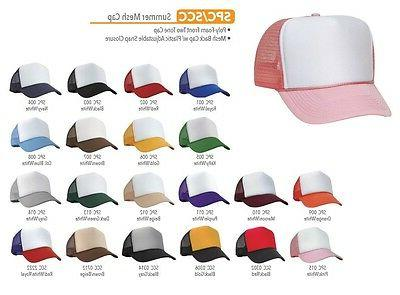 Trucker Hat Plain OR Kid's Youth's