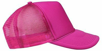 Trucker Hat Mesh Caps Plain Youth's Caps