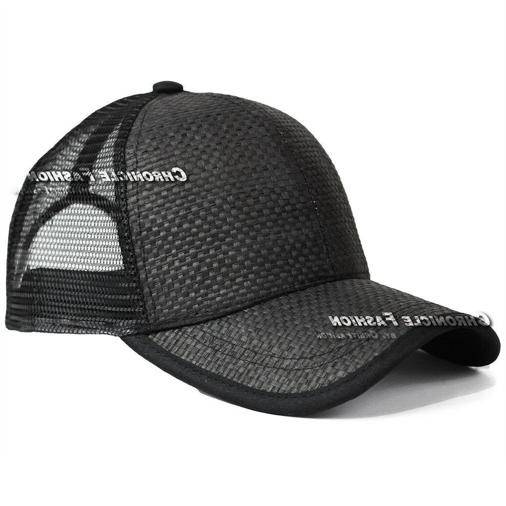 Trucker Mesh Curved Visor Plain