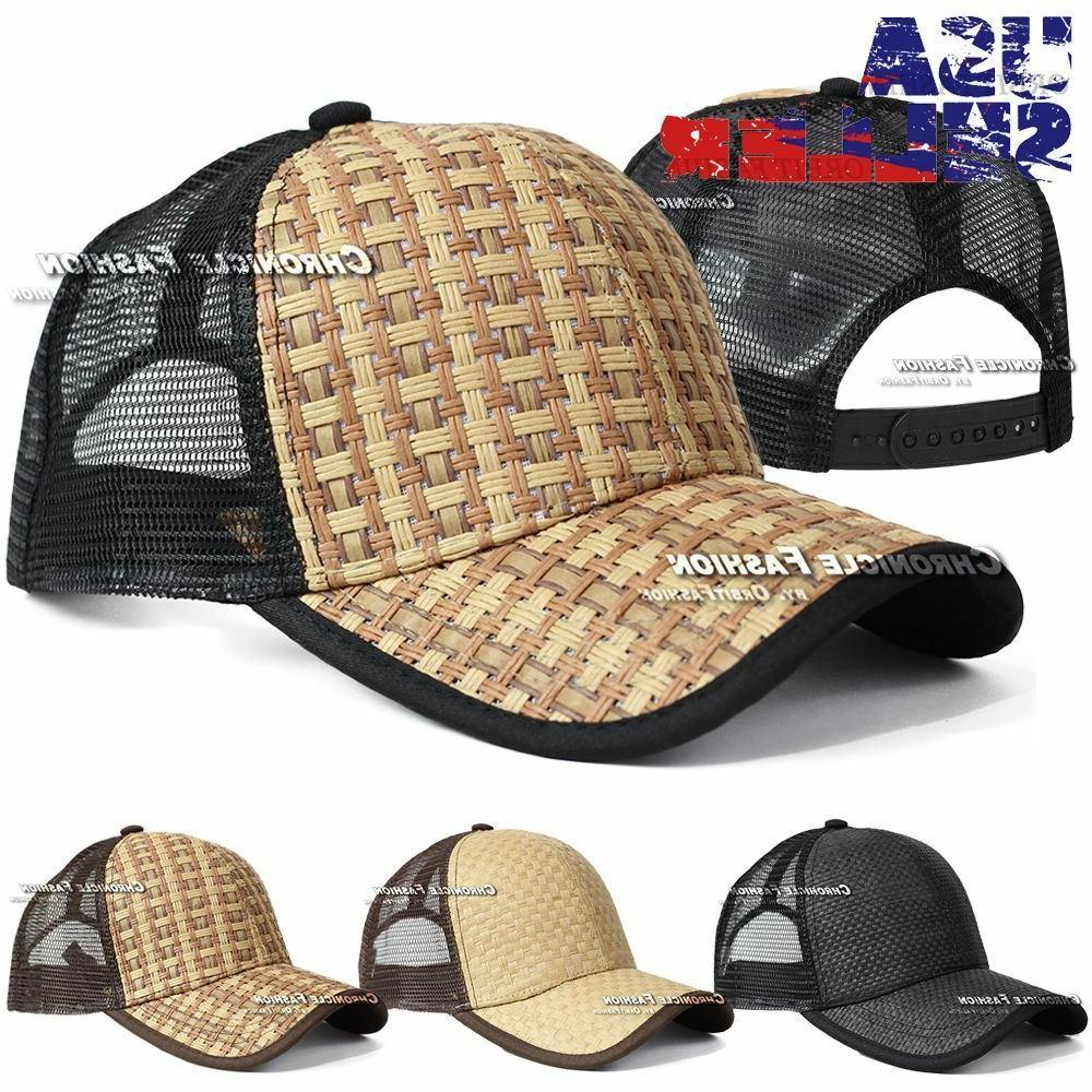 trucker hat baseball cap mesh snapback adjustable