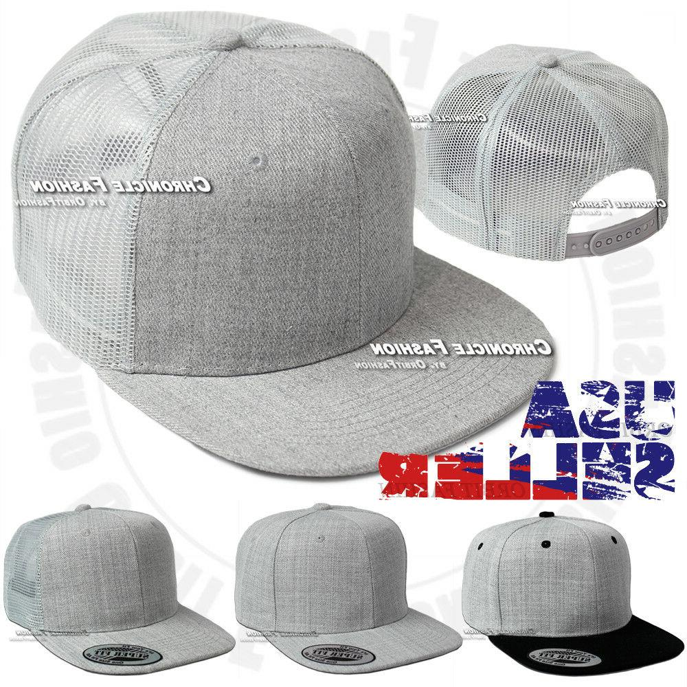 Trucker Hat Baseball Back Cap Solid Blank