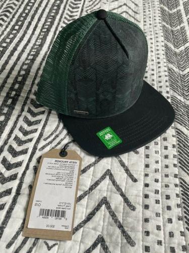 prana Trucker Hat Black and Organic Cotton