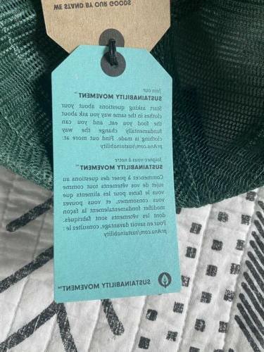 prana Black and Green Organic Cotton