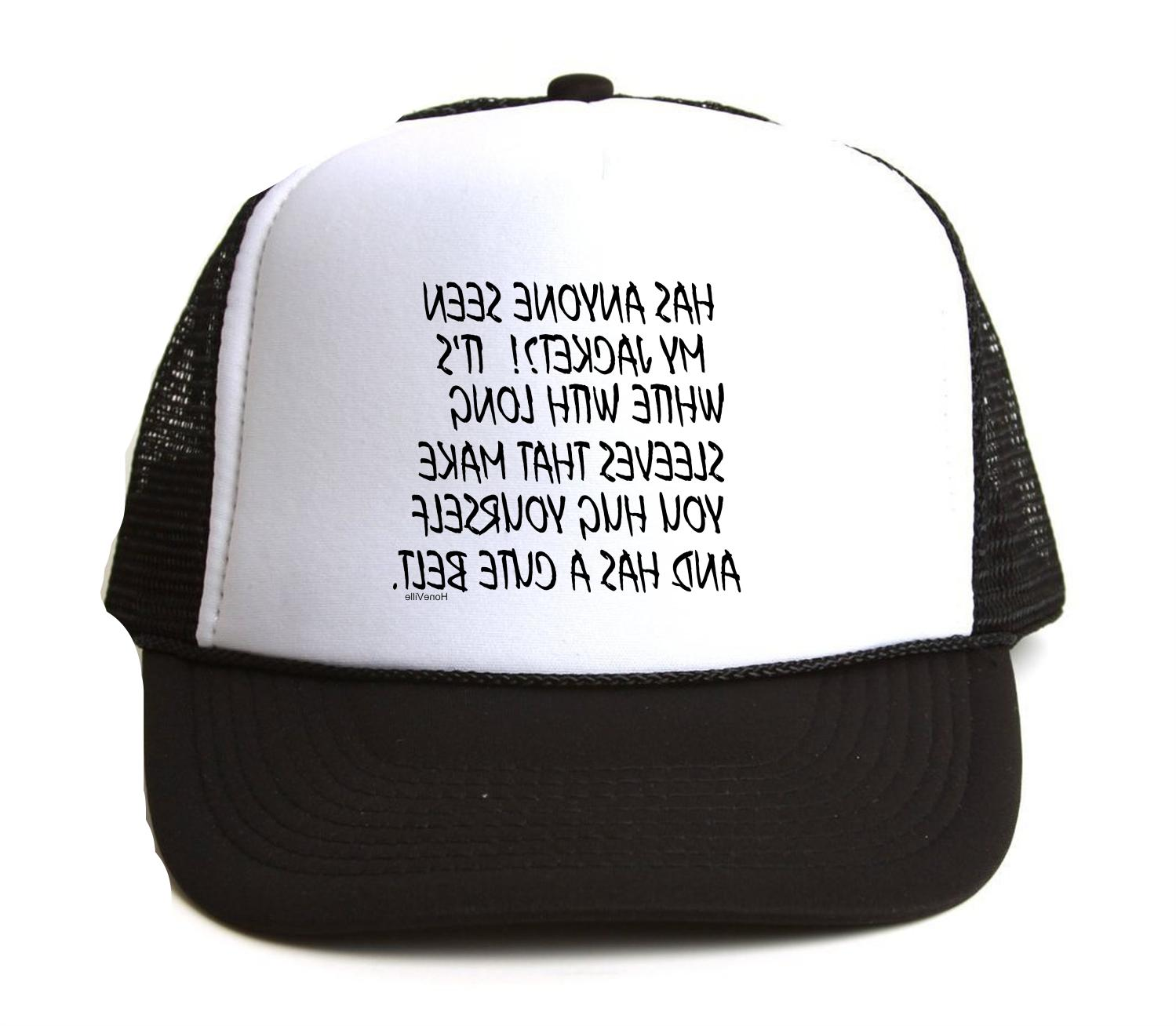 trucker hat cap foam mesh hard funny