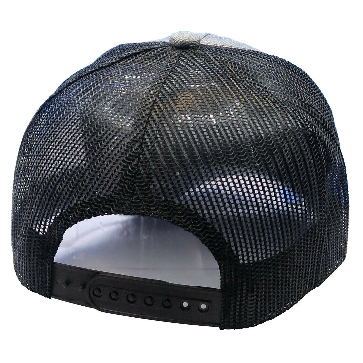 Trucker Hat Cotton Solid Baseball Cap Mens