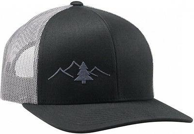 trucker hat great outdoors collection black graphite