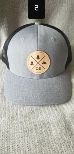 trucker hat great outdoors collection by grey