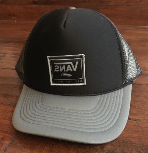 Vans Trucker Hat, Grey And Black, camouflage bull. Brand New