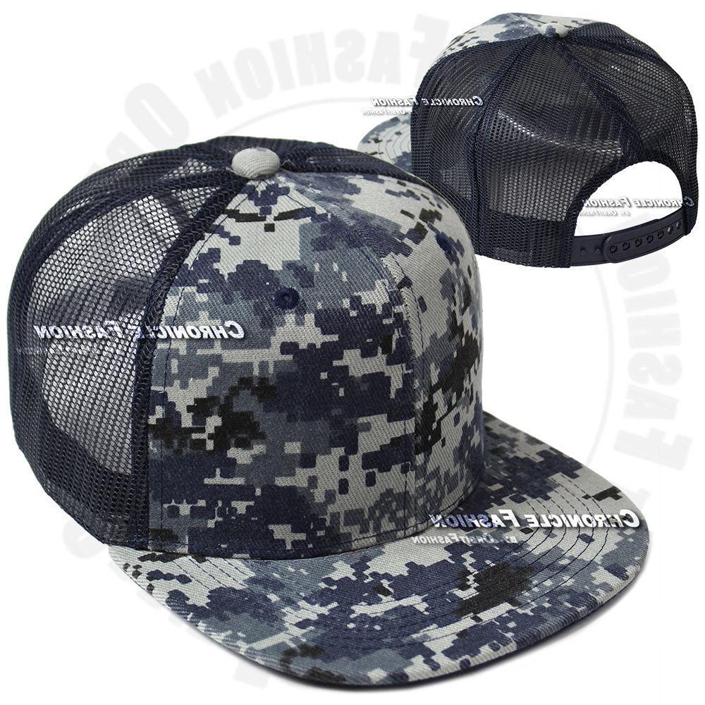 Trucker Mesh Baseball Cap Visor Solid Mens