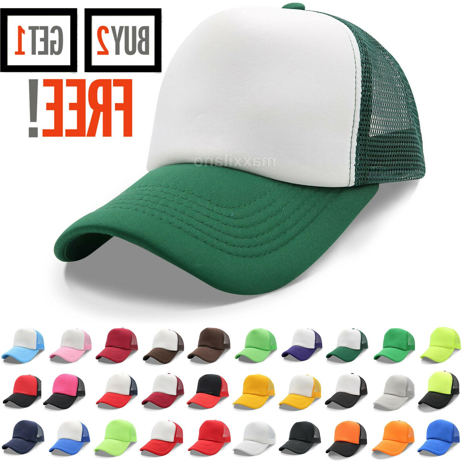 trucker hat mesh foam cap snapback baseball