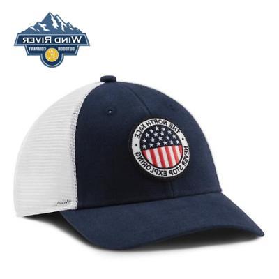 trucker hat o s cosmic blue free
