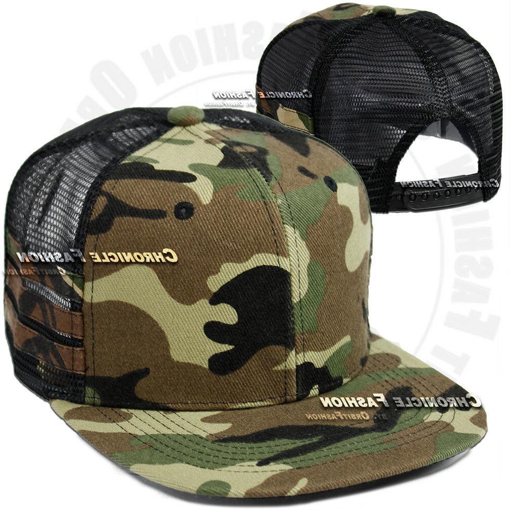 Trucker Hat Cap Snapback Hip Hop Mens