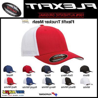 trucker mesh cap plain blank baseball hat