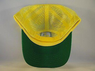 John Deere Snapback Hat Cap Green