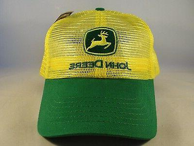 trucker snapback hat cap yellow green