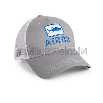 tuna trucker hat gray