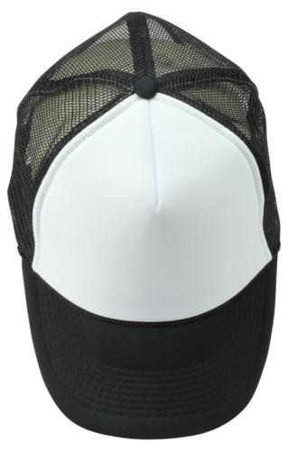 DALIX Two Mesh Cap in Black and