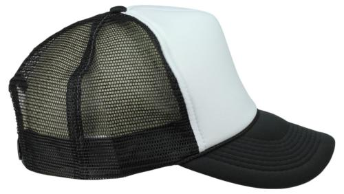 DALIX Two Mesh Cap in and White
