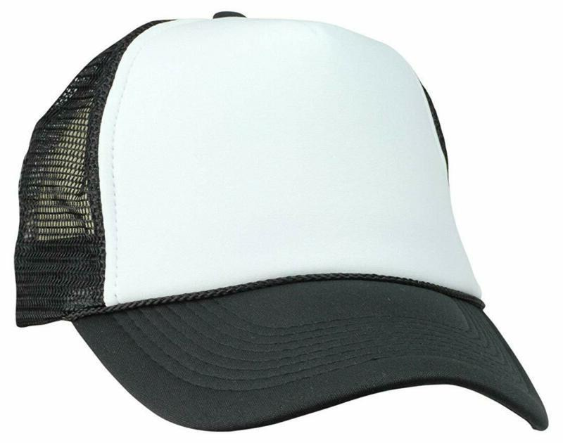 Dalix Two Tone Trucker Hat Summer Mesh Cap With Adjustable S