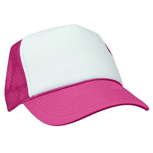 two tone trucker hat summer mesh cap