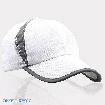 Men Womens Mesh Breathable Trucker Baseball Hat Jogging