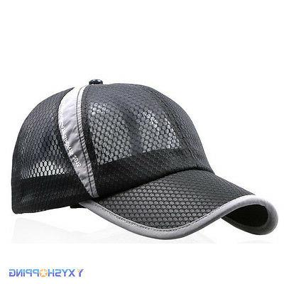 Men Womens Trucker Baseball Hat Jogging Sun Cap