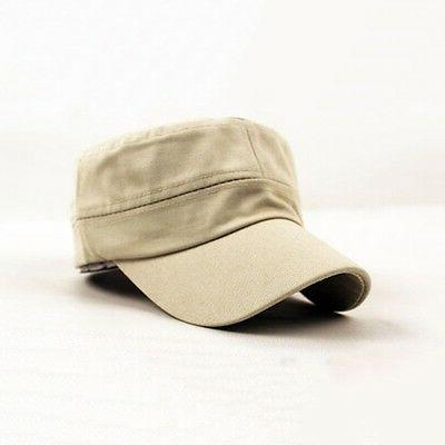 Unisex Mens Cadet Cap Military Stretch