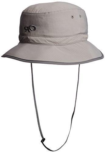 unisex sun bucket pewter large