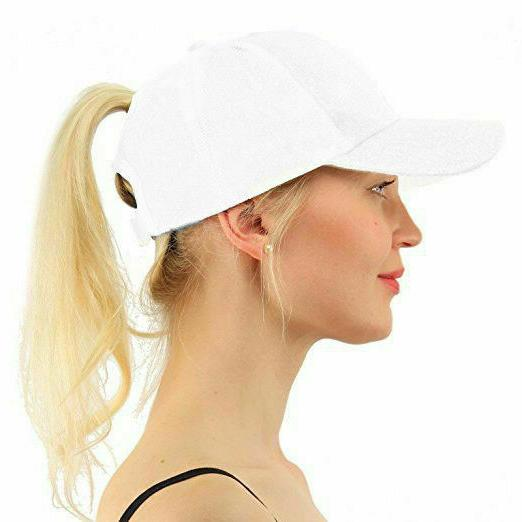 US Women Baseball Adjustable High Trucker Hats